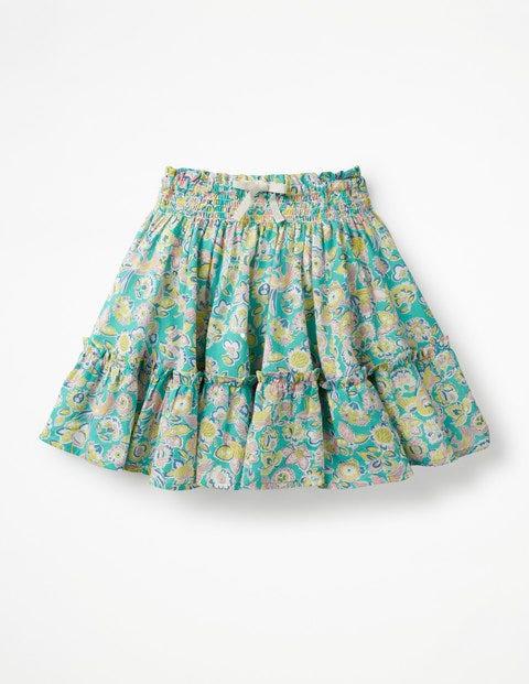 Twirly Skirt - Sea Breeze Tropical Paisley