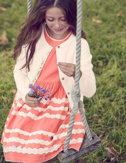 Cashmere Sequin Cardigan - Ecru