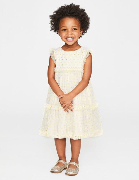 80d53c22829 Sparkly Spot Tulle Dress