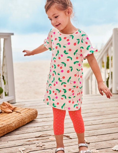 Colourful Tunic - Parisian Pink Cherries