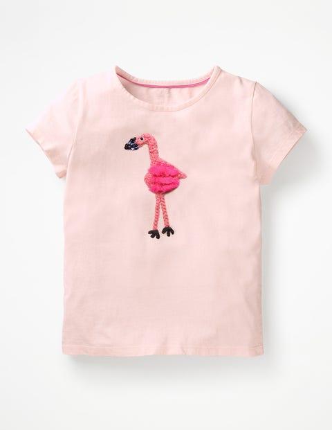 T-shirt à motif animal en crochet