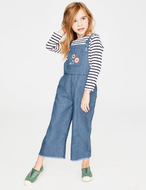 Mini Culotte-Jumpsuit Blue Mädchen Boden, Blue blau |