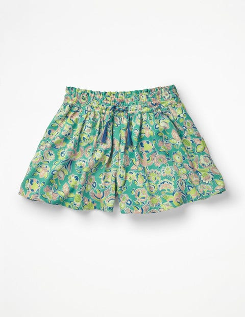 Printed Culottes - Sea Breeze Tropical Paisley