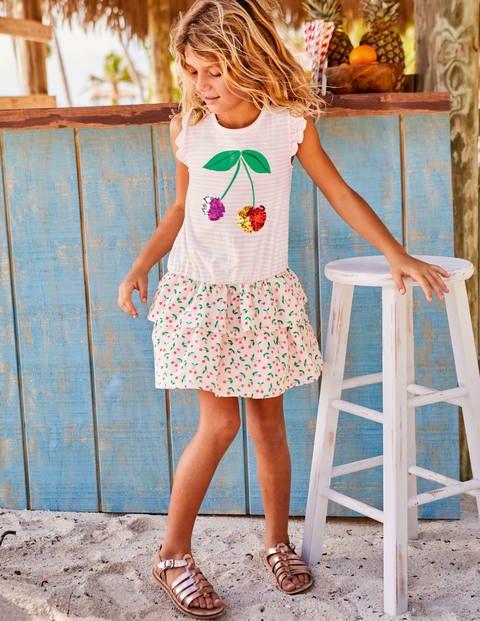 Colour-Change Sequin Dress - Parisian Pink Cherries