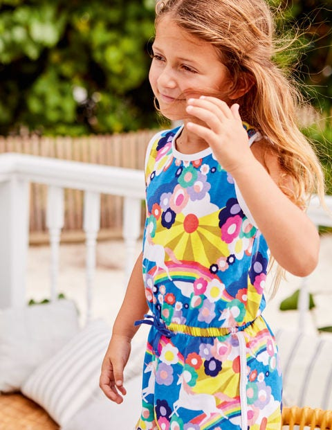 3eb40f3fb6e0 Retro Jersey Romper G1195 Playsuits and Dungarees at Boden