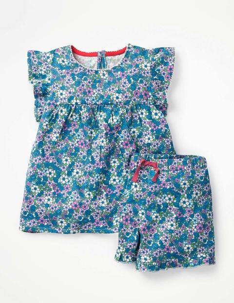 Ruffle Jersey Pyjama Set