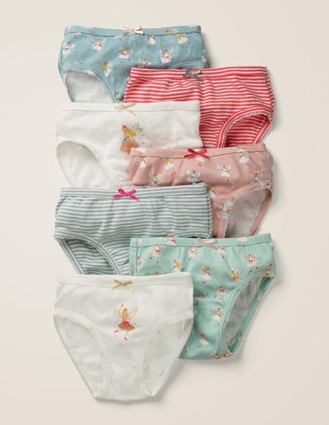 7 Pack Underwear - Festive Fairies