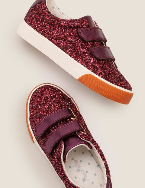 Fun Low Tops - Dark Bramble Purple