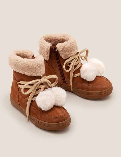 Suede Cosy Boots