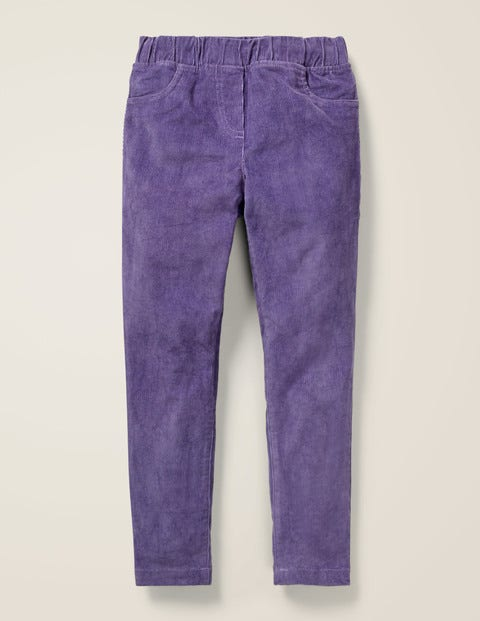 Cord Leggings - Aster Purple