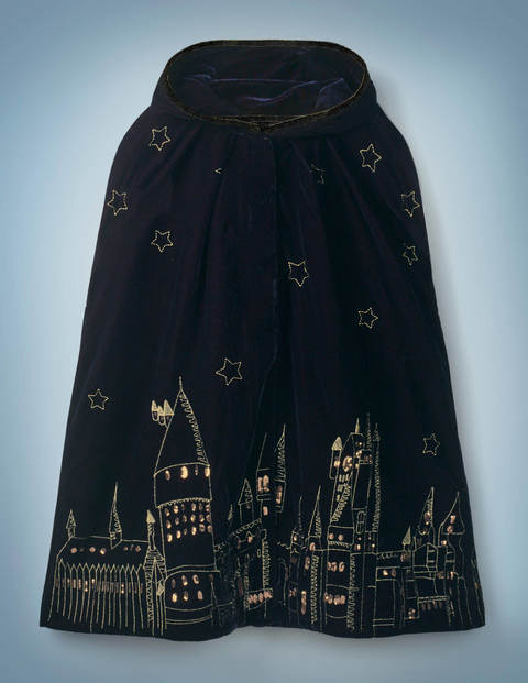 Protego Maxima Magical Cloak - Midnight Blue