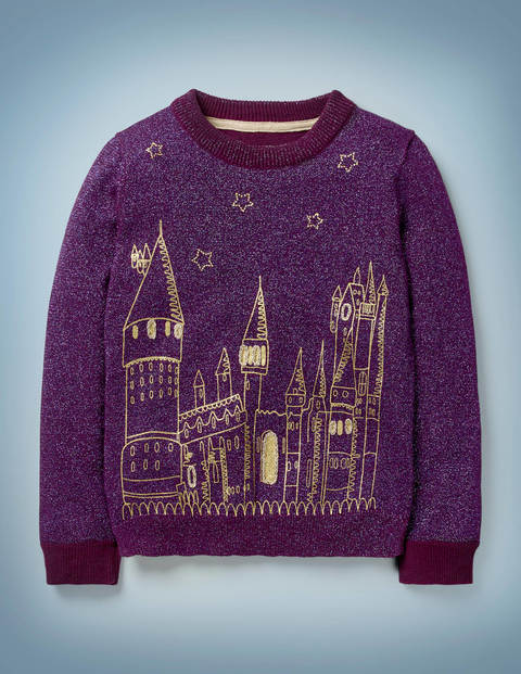 Embroidered Hogwarts Jumper
