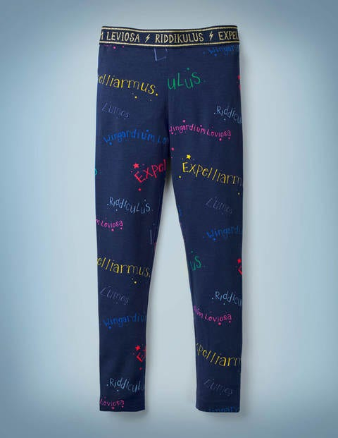 Harry Potter Leggings - Dunkelblau