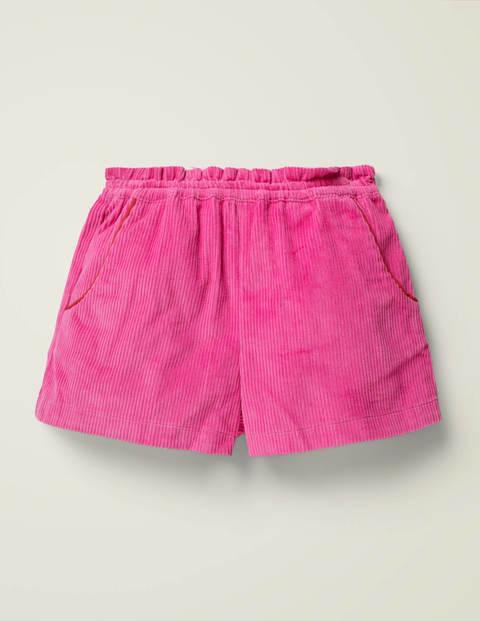 Chunky Cord Shorts - Yarrow Pink