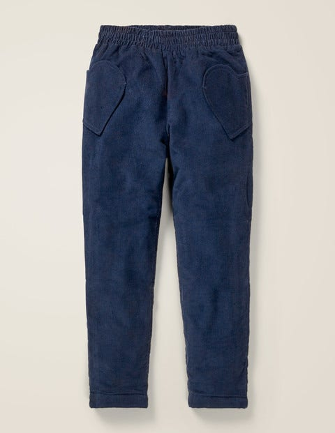 Lined Pull-On Trousers - College Blue
