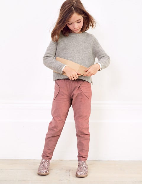 Lined Pull-on Trousers