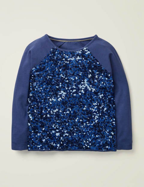 Sequin Raglan T-shirt