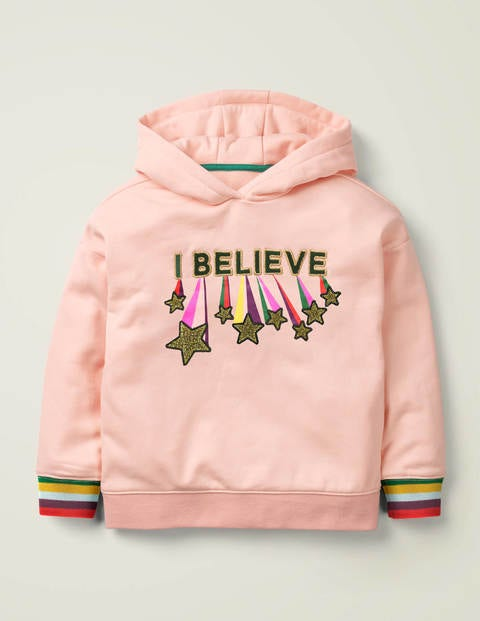 Cosy Sparkle Hoodie - Provence Dusty Pink Believe
