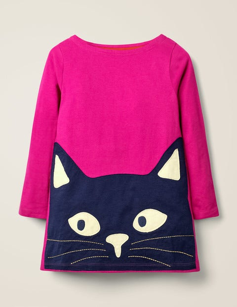 Glow-In-The-Dark Cat Tunic - Pink Yarrow Cat