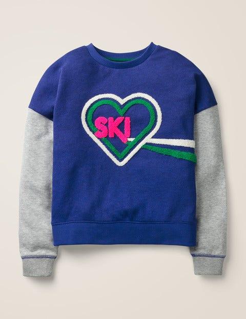 Ski Heart Sweatshirt