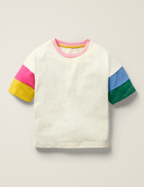 Colourblock Sleeve T-Shirt