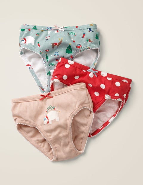 3 Pack Festive Underwear - Festive Friends