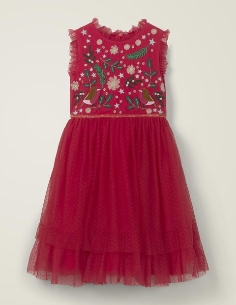 Festive Tulle Party Dress