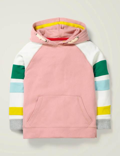Hoodie mit Blockfarben