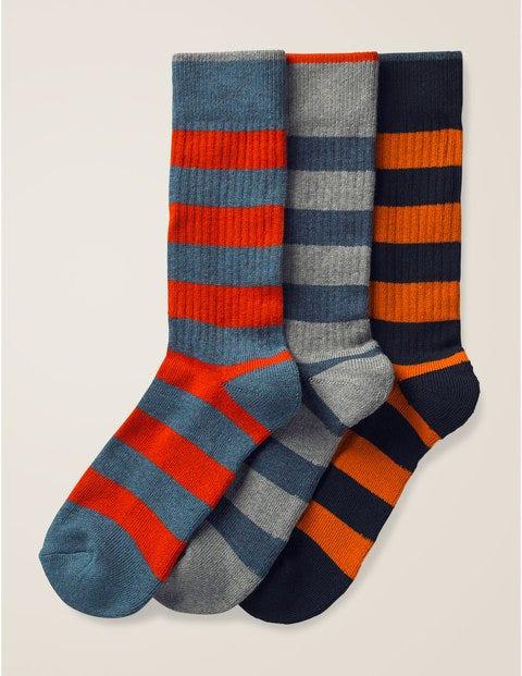 Chunky Weekend Socks - Chunky Stripe Pack