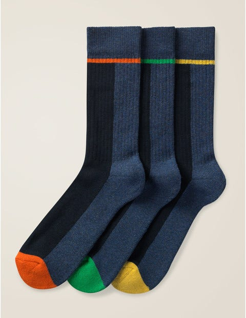 Chunky Weekend Socks - Pop Stripe Pack