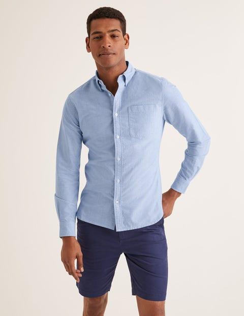 Slim Fit Oxford Shirt - Blue