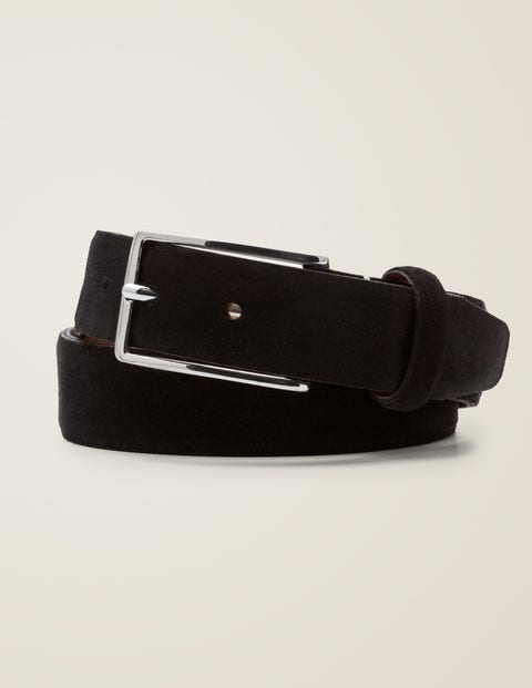 Suede Belt - Black