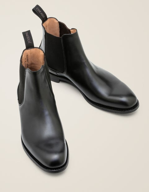 Cheaney Godfrey D Boots - Black Calf