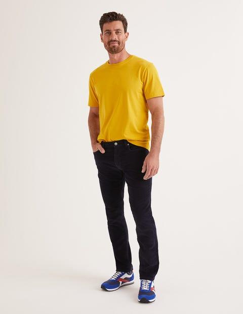 Slim Leg Cord Jeans - Neptune Navy