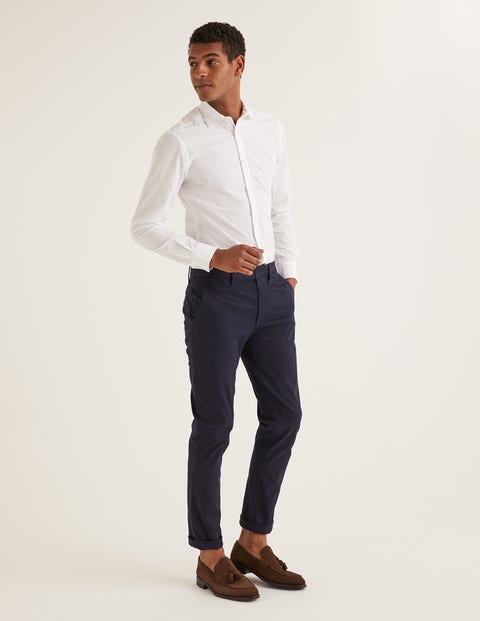 Slim Fit Cutaway Collar Shirt