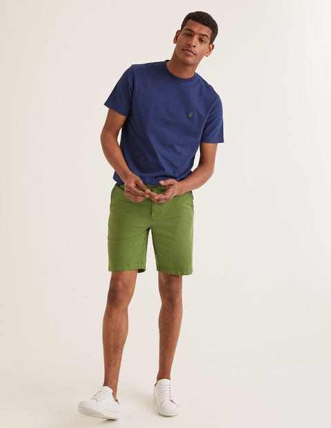 Chino Shorts - Pitch Green