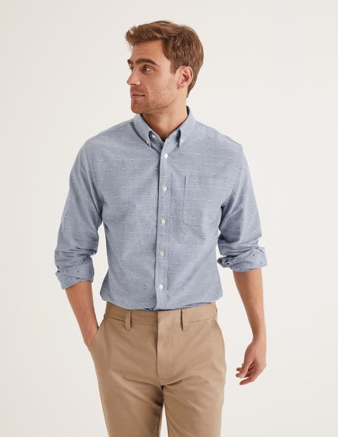 Oxford Patterned Shirt