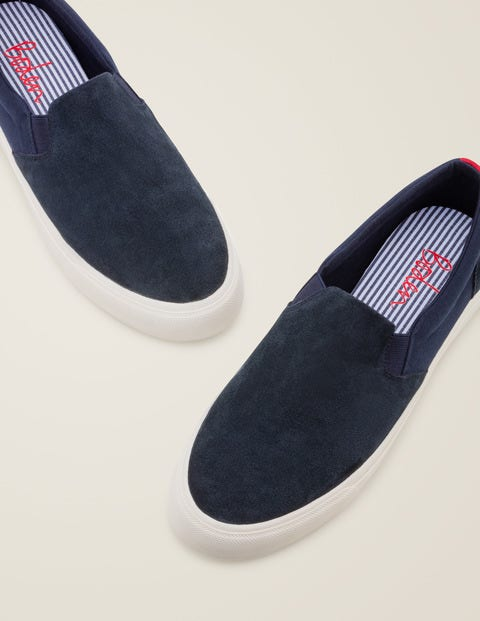 Slip-On Sneakers - Navy