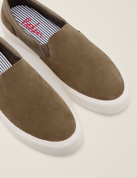 Slip-On Sneakers - Stone