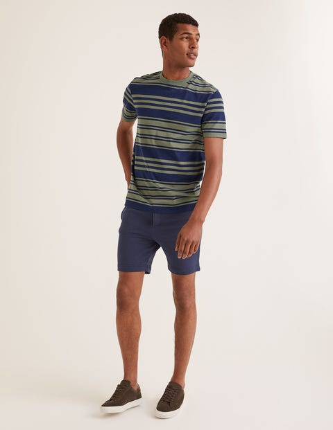Mallory Jersey Shorts - School Navy