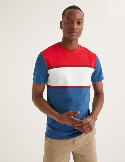 Jersey Interest T-Shirt - Colourblock