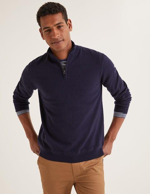 Putney Pullover mit halbem Reißverschluss