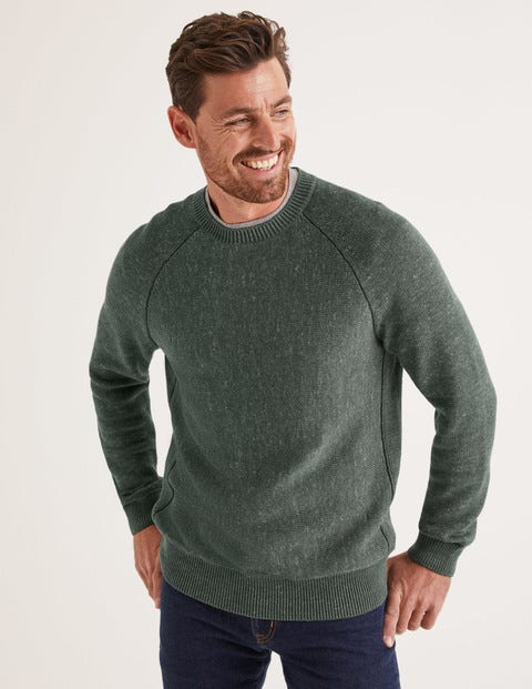 Benwick Crew Neck - Richmond Green