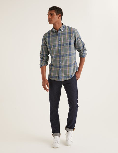 Casual Twill Shirt - Laurel Wreath Multi Check