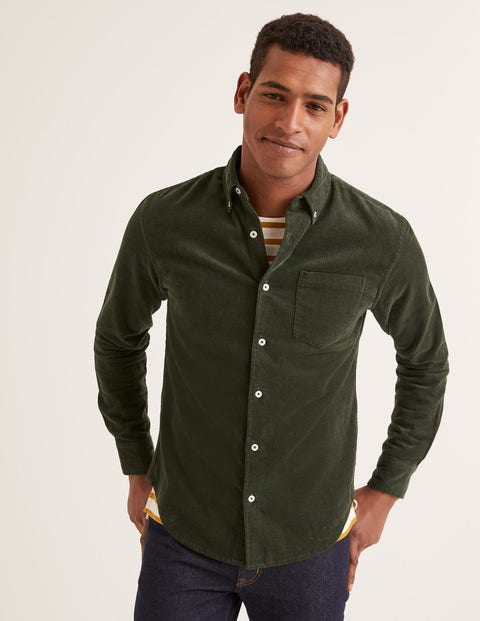 Cord Shirt - Richmond Green