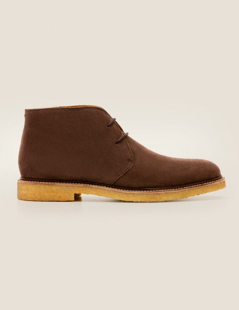 Desert Boots - Dark Brown Suede