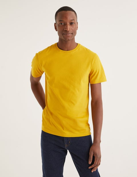 Washed T-Shirt - Saffron