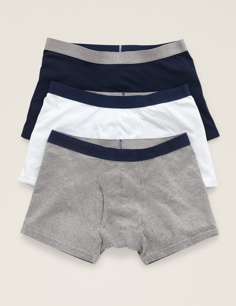 3 Pack Jersey Boxers - Plain Pack