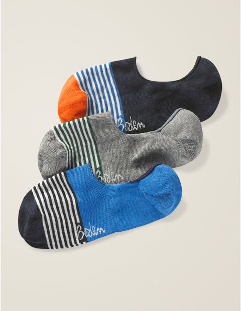 No Show Socks - Stripe Pack