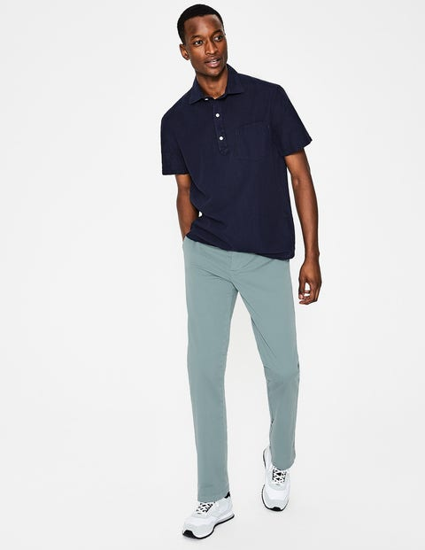 Lightweight Chinos - Succulent Blue